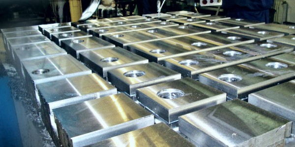 Custom machining product