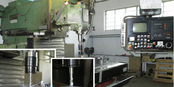 UNION BIELEFELD CNC Marógép