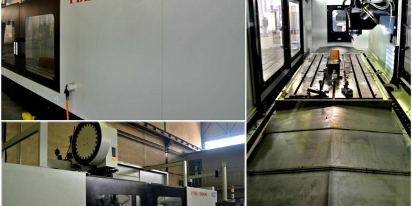 NCT FBE 3000 Mașina de Frezat CNC