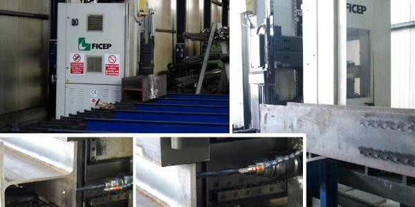 Masina de gaurit CNC FICEP