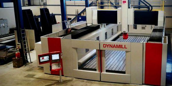 Mecof Dynamill 5/3+2-axis CNC Milling Machine